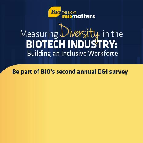 Be part of BIO's second annual D&I survey